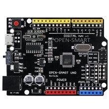 Placa de desenvolvimento micro uno, para arduino uno r3, versão melhorada do driver chip é ch340g, 5v/3.3v compatível