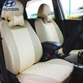 Asiento de coche Universal cubre para Hyundai solaris ix35 ix25 i30 Elantra MISTRA GrandSantafe acento tucson accesorios del coche etiqueta