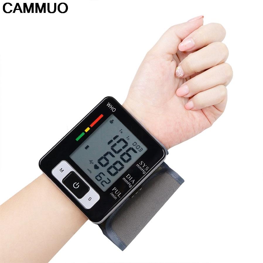 2018 neue LCD Handgelenk Digitale Blutdruck Monitor Tragbare Tonometer Display Blutdruckmessgerät Gesundheit Diagnose-Tool