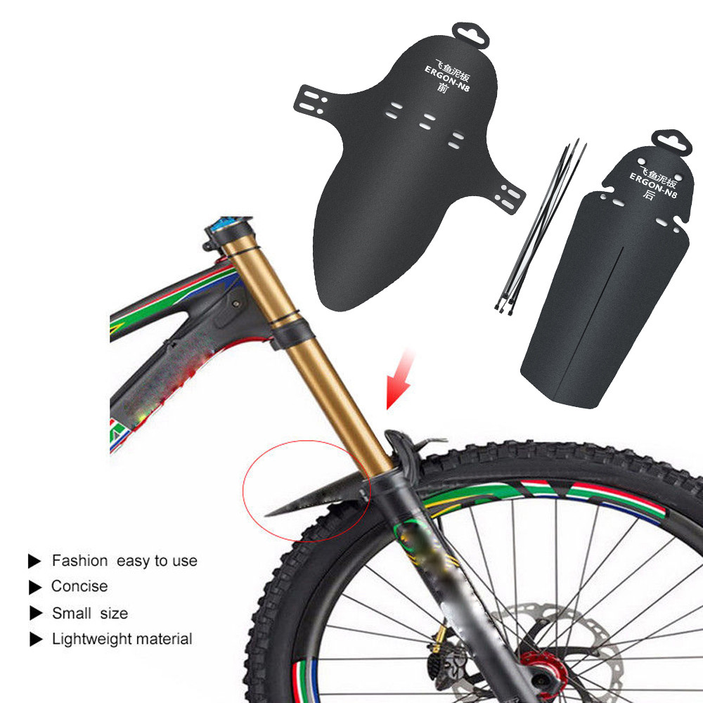 1PC Cycling MTB Mountain Bike Bicycle Front Rear Mud Guards Mudguard Fenders