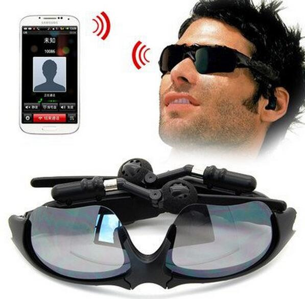 ФОТО Bluetooth Headset Sunglasses Wireless Headphone for iphone7 Samsung Galaxy S5 4 Note 4 3