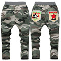 Jeans Kids Boys Novelty Cartoon Pentagram Children's Trousers Cotton Camouflage Pants Boys New Fashion Boys Pants Cross Star