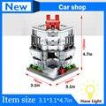 2017 New Mini Street View Building Block City Toys SD6525 Motor Company Free shipping