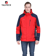цена на 2019 Spring Men Windbreaker Autumn Padded Jacket Casual Cotton Coat Hooded Sports Windproof Jacket Trench Coat Parka Outwear
