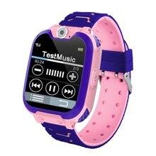 где купить S11 Children Smart Watch GPS Tracker Phone Waterproof Kids Smart Watch SOS Watch Baby Music Game Watch Children Girls по лучшей цене