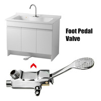 Faucet Switch Control By Foot Foot Pedal Valve Perfect For Hospital Pedal Water Faucet Hotel Basin