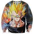 New Women Men Dragon Ball Z Super 3D Goku Sweatshirt Fashion Pullover Hoodies Casual 3d Hiphop Star Sweatshirt