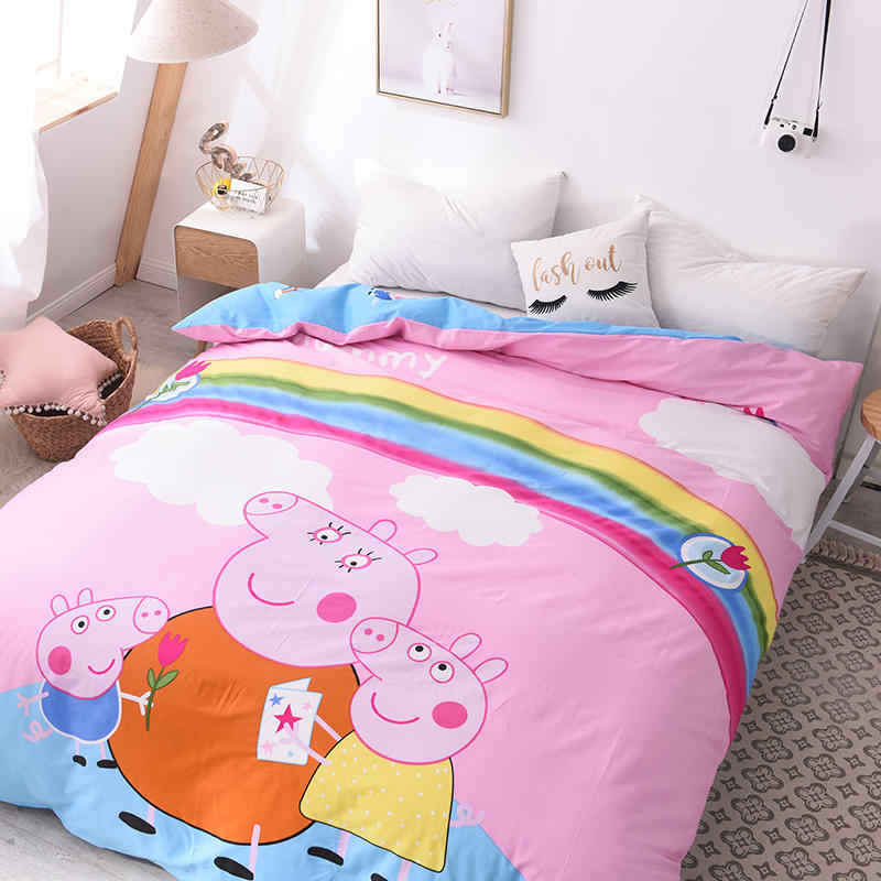 NEW 100% Cotton duvet cover Cartoon duvet cover set  kids duvet cover  queen/king size duvet cover150 dekbedovertre 200X230