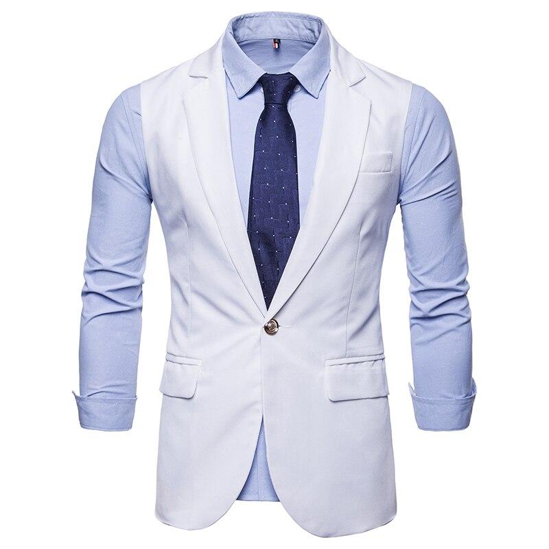 Free brand Mens suit Vest Business Casual Slim Vests For Autumn ... 49b150751366