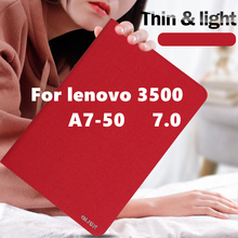 High quality For Lenovo A3500 7 inch case Lichee leather case for lenov