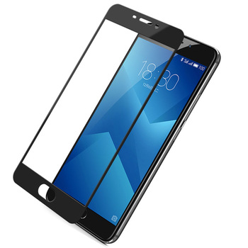 50pcs Full screen coverage tempered screen film for meizu pro 7 plus glass screen protector edge to edge protection saver
