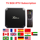 X96 MINI IPTV BOX 2GB 16GB Amlogic S905W with One Year Iptv subscription Live TV Movies channels French Arabic UK Europe