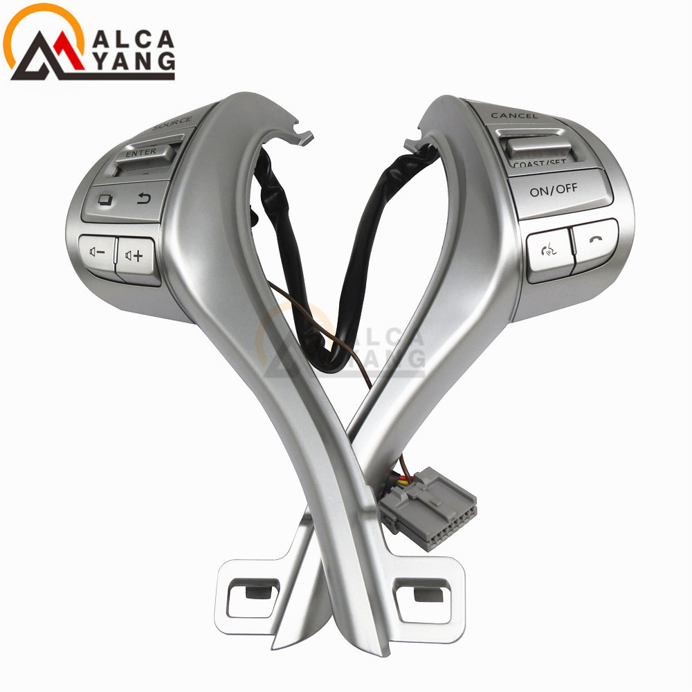 Cruise Control Bluetooth Steering Wheel Switch Assy For Nissan Altima 2013 2014 2015