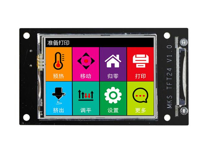 Tablet Accessories 3d Printer Motherboard Mks Robin Nano Stm32 Control Panel With 3.2inch Touch Screen