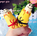 New Rare Happy Face Banana Squeeze Toy Charm Gift