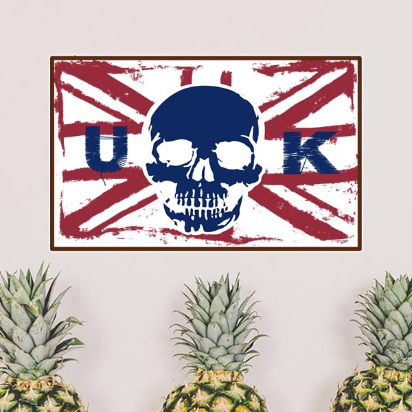 popular wall stickers uk-buy cheap wall stickers uk lots from, Skeleton