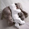 60cm Soft/comfortable Animal Elephant plush baby toys Stuffed Elephant Doll Pillow Kids Toys for Children Room Bed comfort toy