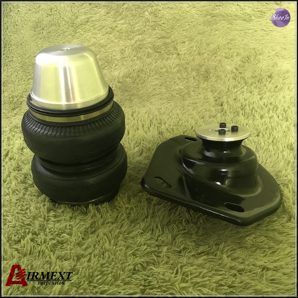 AIRMEXT C.HEVROLET CAMARO/ Rear Air suspension Double convolute rubber airspring/airbag shock absorber