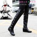 Freeshipping anime Owari no Seraph of the end Ferid Bathory Hyakuya Mikaera Mikaela Cosplay Boots Shoes custom-made Halloween
