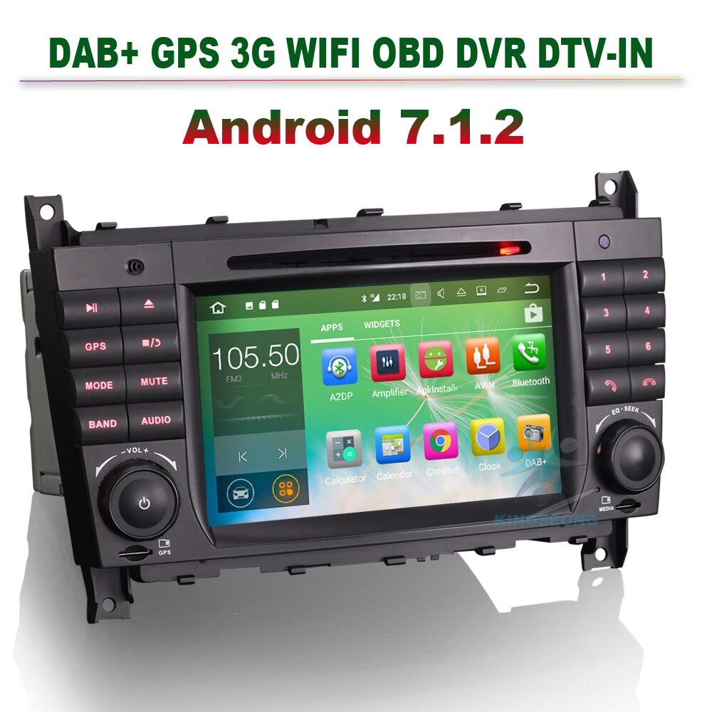 7 android 7 1 2 autoradio dvd cd player gps car radio for mercedes rh aliexpress com Mercedes-Benz W203 Interior 2006 Mercedes-Benz ML500 Manual Book