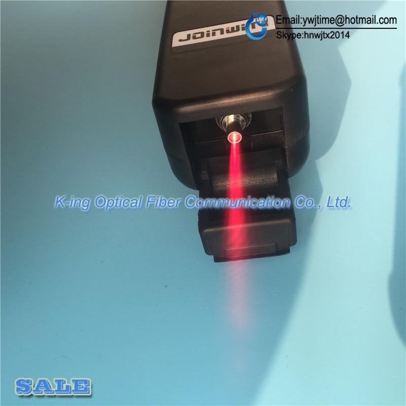 Livraison gratuite identificateur de Fiber optique JW3306D identificateur de Fiber optique en direct avec localisateur de défaut visuel 10 mw intégré - 4