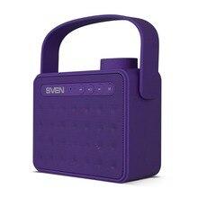 Портативная акустика АС SVEN PS -72, фиолетовый (6 Вт, Bluetooth, FM, USB, microSD, ручка, 1200мА*ч)