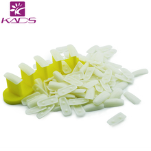 Plastic Nail Tips Display Practice Stand Holder +100pc nail tips False Nail Show Work Table Practice Manicure Nail Art Tools