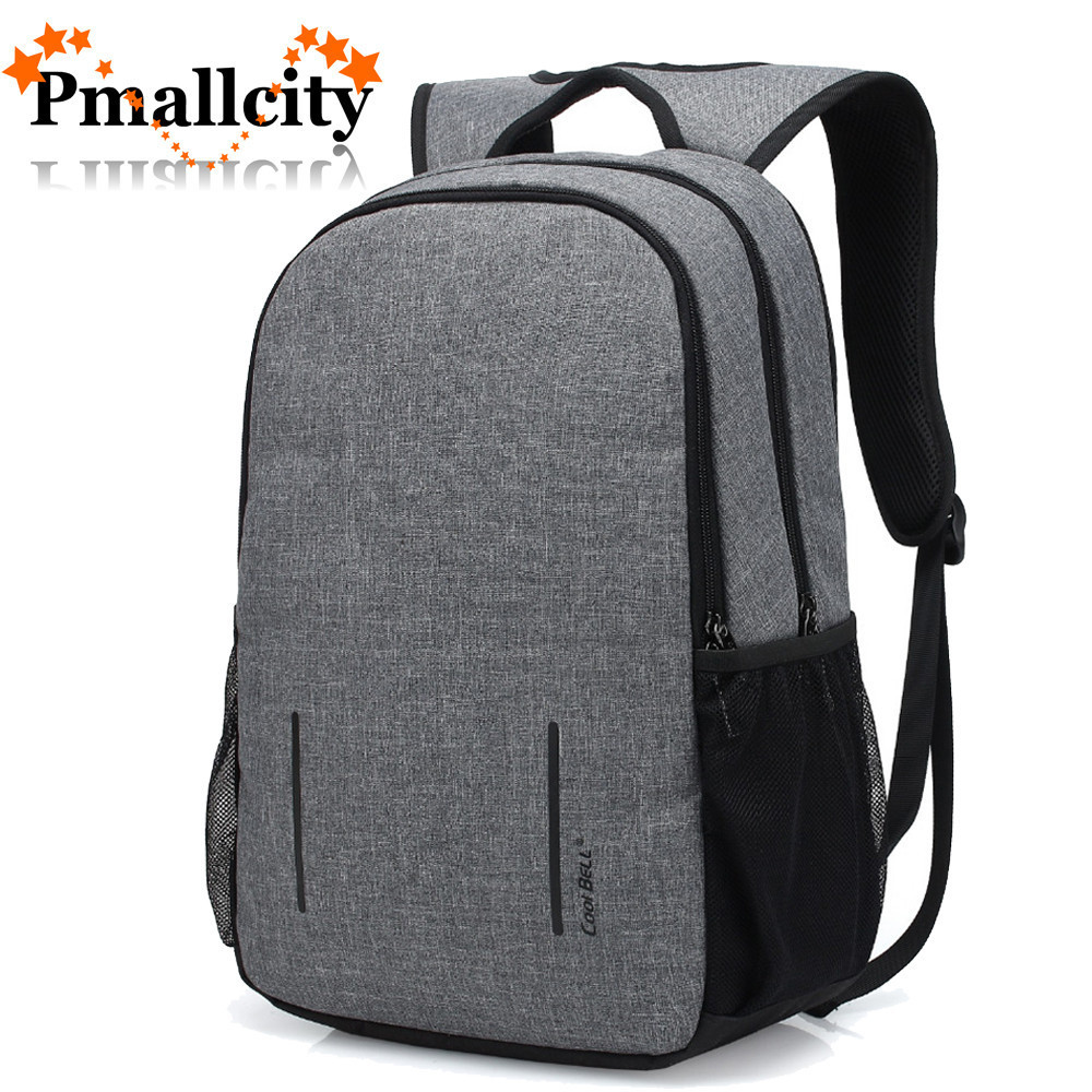 Anti-theft Laptop Backpack 15.6 15 Inch Laptop bag with USB Charge port Waterproof Compute Bag Knapsack school bag College Teens image