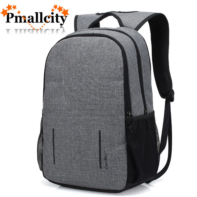 60bed8742c62 Anti-theft Laptop Backpack 15.6 15 Inch Laptop bag with USB Charge port  Waterproof Compute Bag Knapsack school bag College Teens