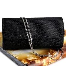 Женская вечерняя сумка через плечо, клатч для невесты, вечерняя сумочка