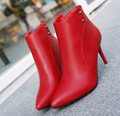 10..Womens Faux Leather Comfortable Ankle Boots Platform High Heel Booties for Women Fashion Buckle Winter Dress Shoes Black