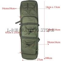 100cm Heavy Duty Gun Bag Tactical Rifle Slip Shouler Carry Bag 40 Outdoor Sports Shooting Fishing