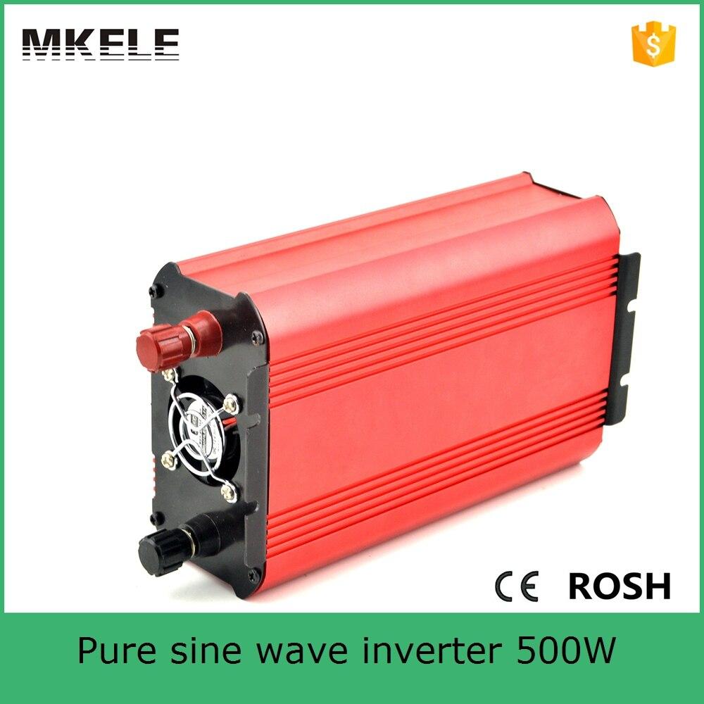 Mkp500 241r маленький размер высокое качество промышленных инверторов 500 Вт 24vdc 120vac Чистая синусоида форме инвертор сделано в Китае