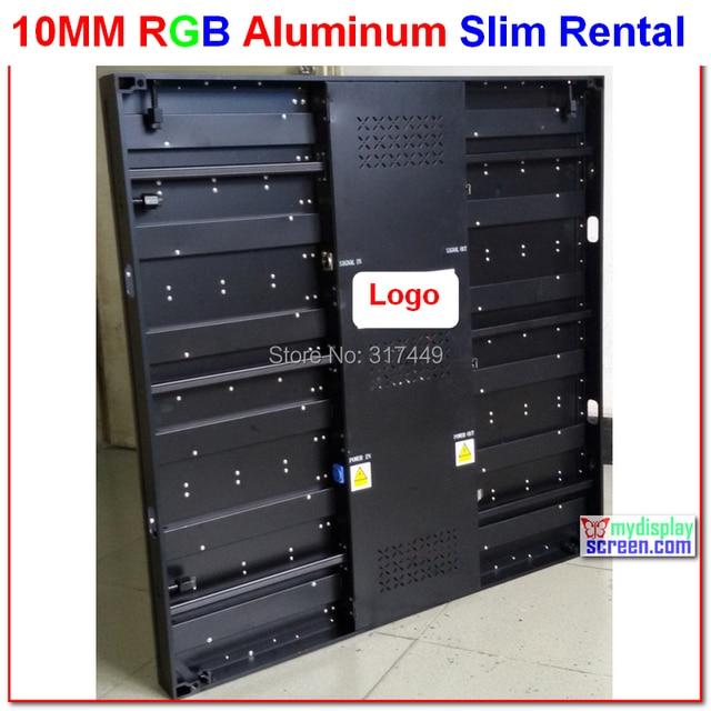 p10 rental led display, 640mm * 640mm,aluminum cabinet,super slim&light,flight case kits,economic price,10mm rent display