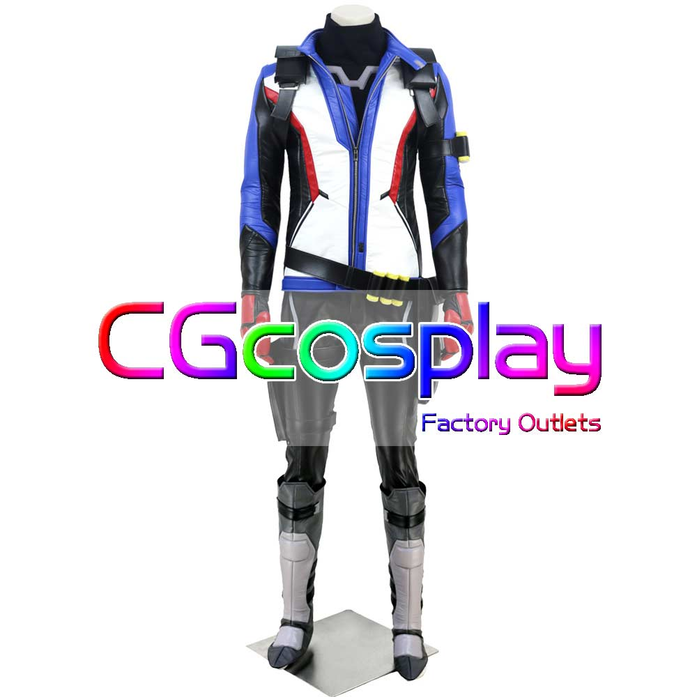 CGCOS Express Shipping 76 Soldier SOLDIER 76 Jack Morrison Game Cos Cosplay Costume Uniform Helloween Custom