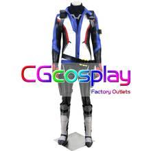 CGCOS экспресс-доставка 76 солдат: 76 Джек Моррисон игры, потому что Косплэй костюм равномерное Helloween на заказ