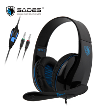 SADES TPOWER USB Gaming Headset Stereo Sound Headphones Headphone For PC/XBOX/PS4