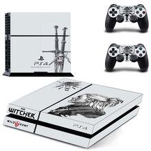 Oststicker Pro Gamer для Ведьмак скины для Play Station 4 контроллер наклейка Стикеры для PS4 игровой консоли Интимные аксессуары