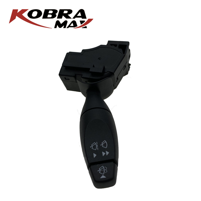 KobraMax Interruptor de limpiaparabrisas para coche, YC1T17A553AC, compatible con FORD TOURNEO, CONNECT TRANSIT Box, accesorios para coche
