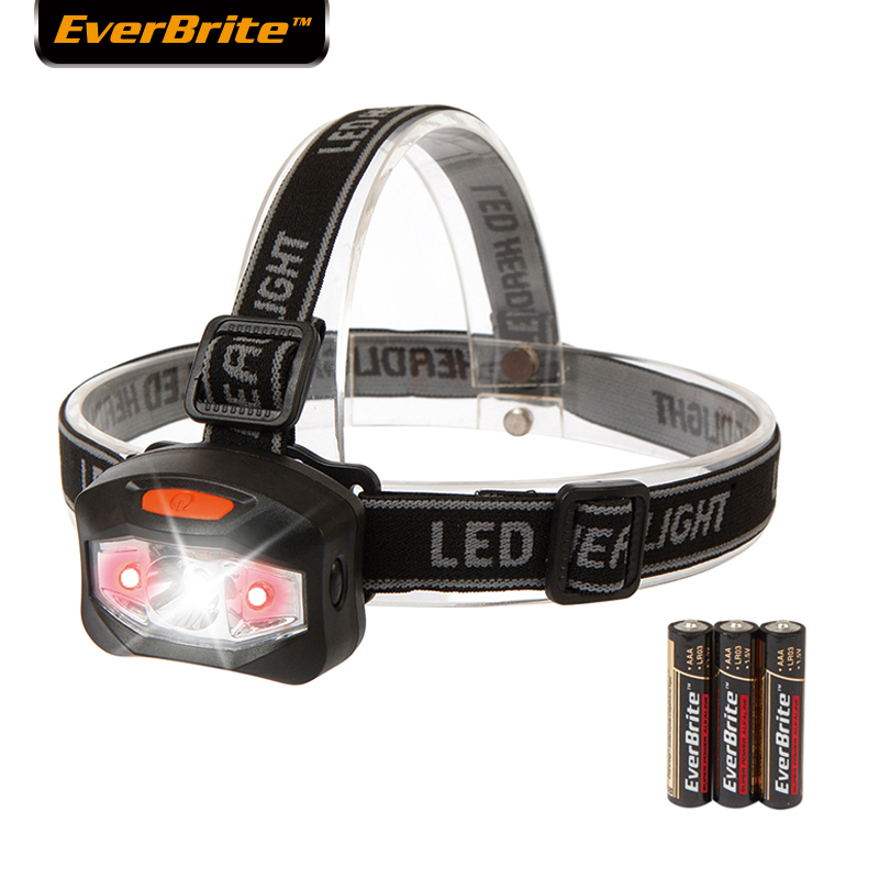 Lampu suluh Everbrite yang diketuai lampu kepala Q5 Memancing lampu lampu mendaki lampu kecemasan