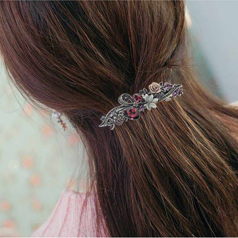 Dalaful Opals Resin Bunga Jepit Rambut Jepit Rambut Ikatan Simpul - Perhiasan fashion - Foto 4