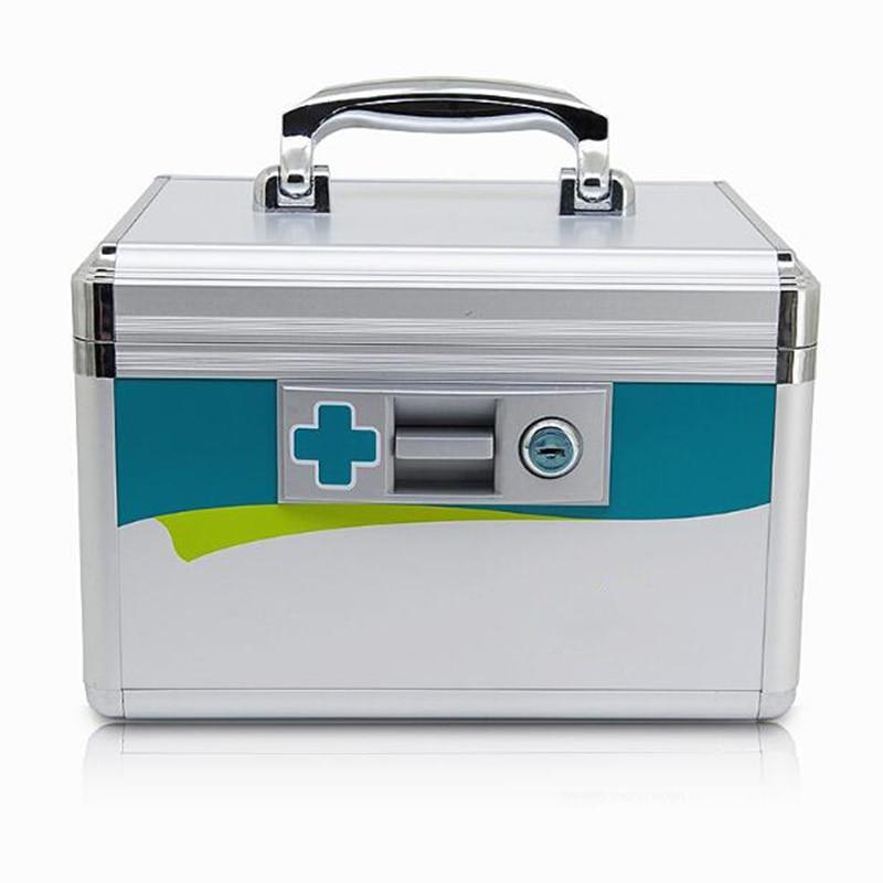 255*170*170 мм Семья аптечке Многослойные Медицинского аптечка медицины бытовой дети получают случае пластиковая коробка