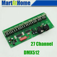 10pcs Lot 27 Channel Easy DMX LED Controller DMX512 Decoder Driver BV142 SD