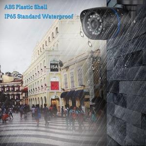 """Image 3 - Hamrotte cámara AHD de 5MP 1/2.7 """", SC5239 CMOS, lente gran angular de 3,6 MM, visión nocturna, cámara AHD para exteriores, cubierta para cámara CCTV de plástico ABS"""