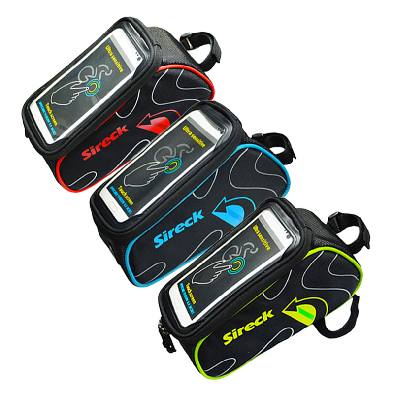 Sireck Touchscreen 6 Quot Mountain Road Bike Bag Phone Case