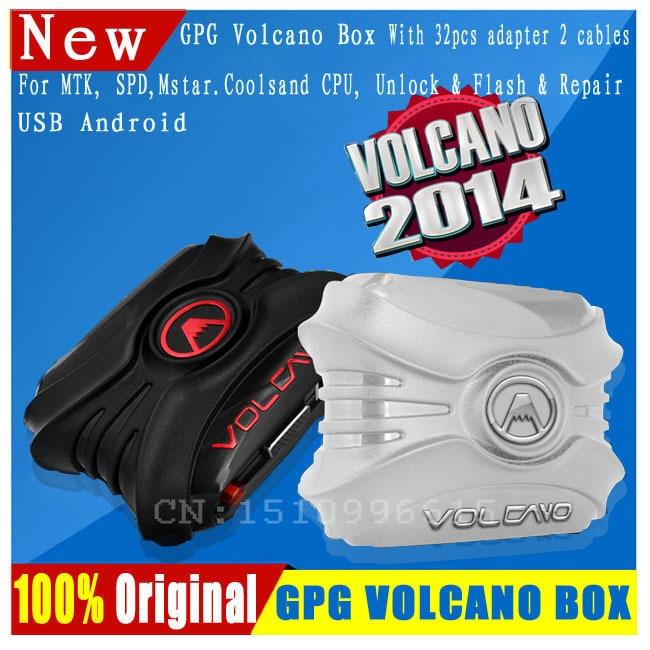 2017 Volcano Box For Unlock Flash & Repair With 28 pcs