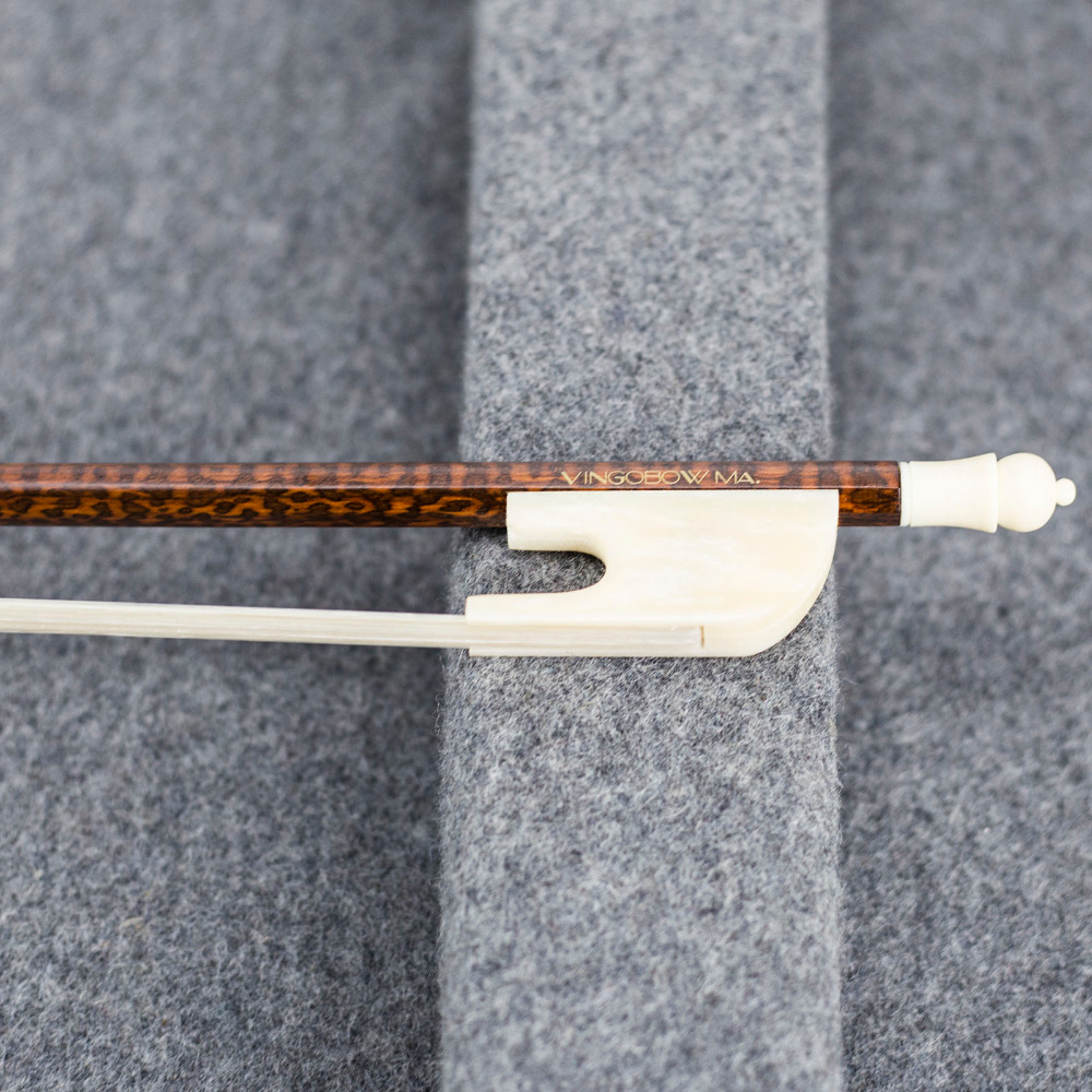 630V 4/4 Size Baroque VIOLIN BOW Snakewood Stick Ox Bone Frog and Screw Mongolia Horsehair Straight Violin Parts Accessories a mongolia nature violin bow hair 29 250g