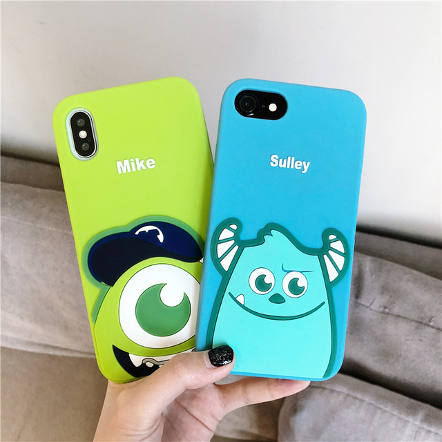 Cute Cartoon Monsters University Sulley Mike Case