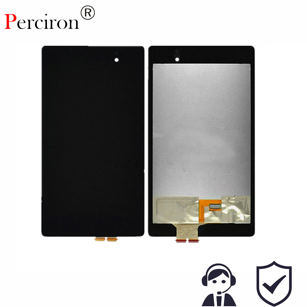 цена на Original 7'' inch For Nexus 7 2nd Gen 2013 LCD Display Touch Screen Digitizer Assembly for ASUS Google Nexus 7 2nd free shipping
