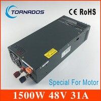 1500 w 48 v Schakelende voeding voor LED Strip input 220 v ac naar dc voeding S-1500-48 Speciale voor DC motor